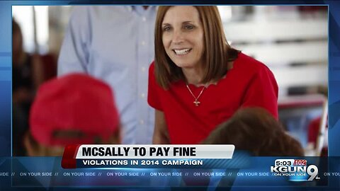 McSally fined $23,000 for 2014 campaign finance violations