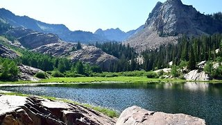 Taking a Hike Around Lake Blanche Without the Effort - Video