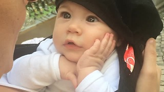 Sweet Baby Loves To Hear Mom Sing - Video