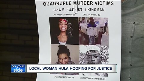 Cleveland woman's unconventional plea for justice in quadruple homicide