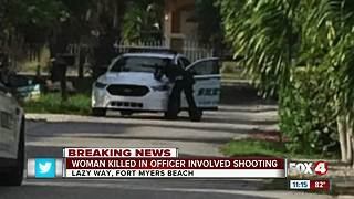 Officer involved shooting in Fort Myers Beach - Video