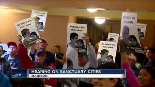 Wisconsin legislative hearing on sanctuary cities turns emotional - Video