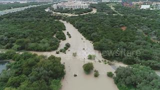 Crazy drone footage shows Texas flooding - Video