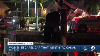 Lake Worth Beach woman dies after car plunges into Intracoastal Waterway in Boynton Beach