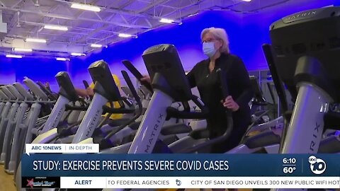 Exercise has dramatic impact on severity of COVID-19 cases