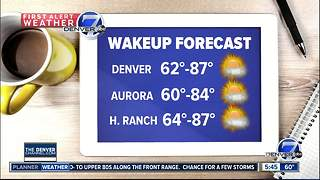 Quite a bit cooler by Thursday! - Video