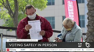 Local officials work to keep in-person voters safe