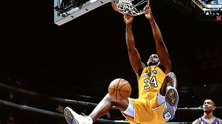 Shaquille O'Neal Backboard Breaking Dunks Compilation - Video