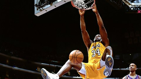 Shaquille O'Neal Backboard Breaking Dunks Compilation