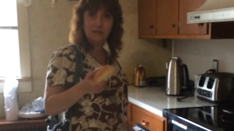 New Grandma's Hilarious Reaction To Bun In The Oven Pregnancy Reveal