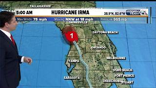 Hurricane Irma 5 a.m. update - Video