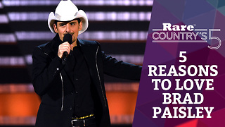Five Reasons to Love Brad Paisley | Rare Country's 5 - Video