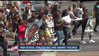 We Live Indy walks streets of city asking for peace - Video