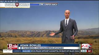 Below normal temperatures in store for Kern County! - Video