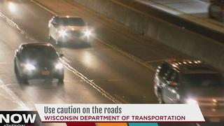 DOT urges drivers to use caution on the roads with upcoming winter storm