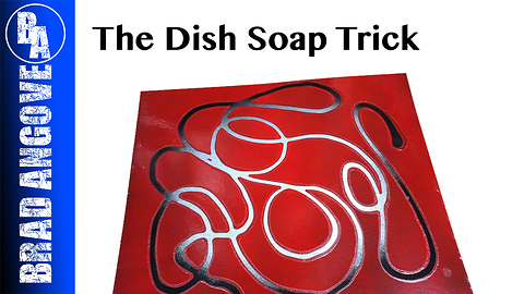 Cool Spray Can Technique: The dish soap trick