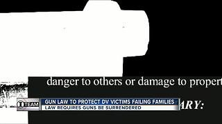 Alarming truth about Florida's gun law created to protect domestic abuse victims - Video