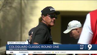 Weir leads after round one at Cologuard