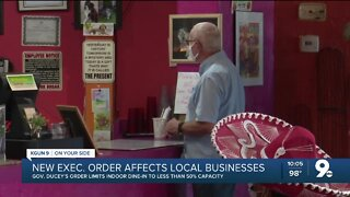 Gov. Ducey's new executive order affects local businesses