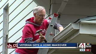 Volunteers make over homes for those in need