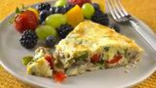 Frittata Recipe With Fruit Salad - Video