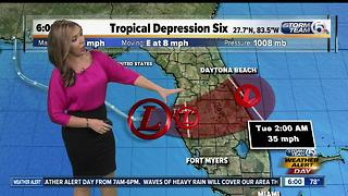 Tropical Depression #6 forms - Video