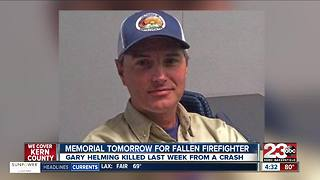 Memorial has been set for Pismo Beach firefighter killed last week - Video