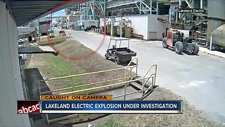 Lakeland electric explosion under investigation - Video