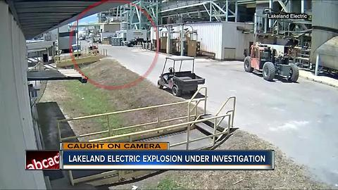 Lakeland electric explosion under investigation
