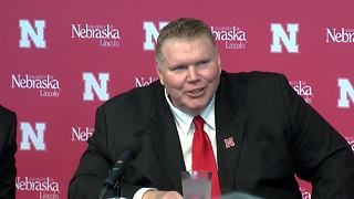 Dave Rimington officially introduced as Nebraska's interim AD - Video