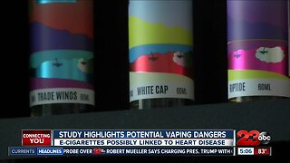 E-Cigarettes possibly linked to heart disease