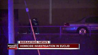 Euclid police investigating a deadly shooting on East 260th Street - Video