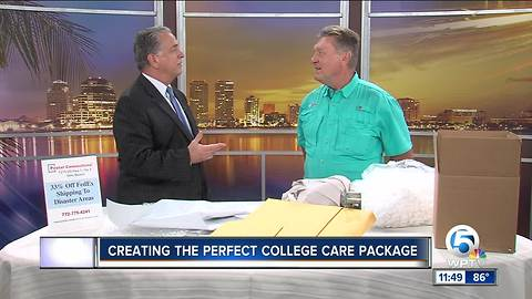 Create the perfect care package for your college student