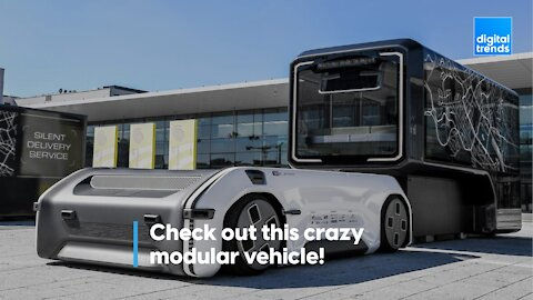 Check out this crazy modular vehicle!