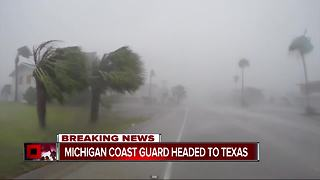 Coast Guard units deployed to Texas for help with flooding