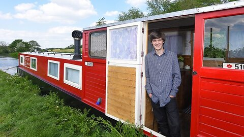 Talented Teenager Pimps Shabby Canal Boat Into Luxury Holiday Home For His Sister And Mum