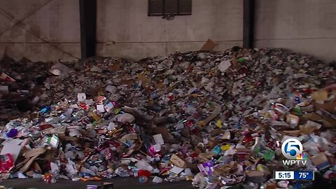 WPTV looks into where recyclables go in St. Lucie County