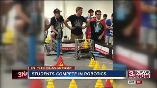 Omaha-area high school wins world robotics competition in China - Video