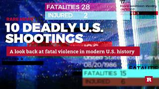 Deadliest Mass Shootings in U.S | Rare News - Video