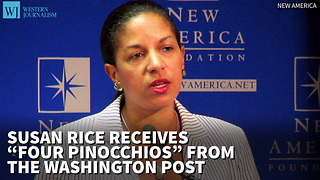 Susan Rice Receives 'Four Pinocchios' From The Post For Claims About Syrian Chemical Weapons - Video