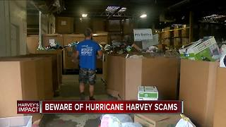 Don't Waste Your Money: Beware of Hurricane Harvey scams - Video