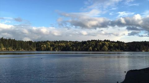 Drone footage time lapse captures majestic Pacific Northwest
