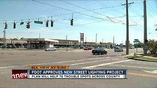 FDOT approves new Street Lighting Project - Video