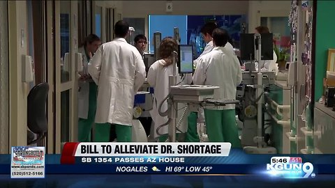 Proposed Arizona bill would alleviate physician shortage