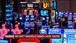 Casino & AMC Virus Safety Measures