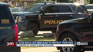 CCSD police plans to hire more officers - Video