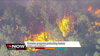 Firewise program protecting homes - Video