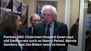 Howard Dean Has a Message for Pelosi, Schumer - Video