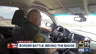 A day in the life of federal agents on the U.S., Mexico border - Video