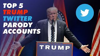 Top 5 Trump twitter parodies - Video